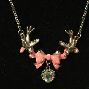 Betsey Johnson bird necklace